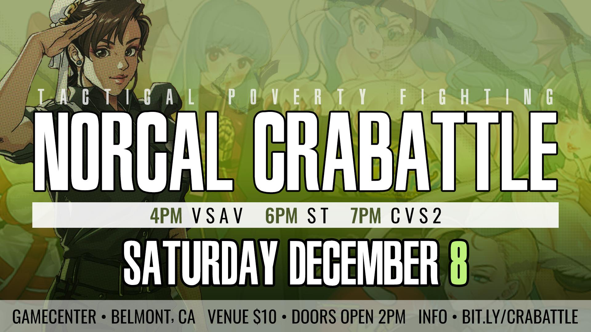 Crabattle Flyer 11/18