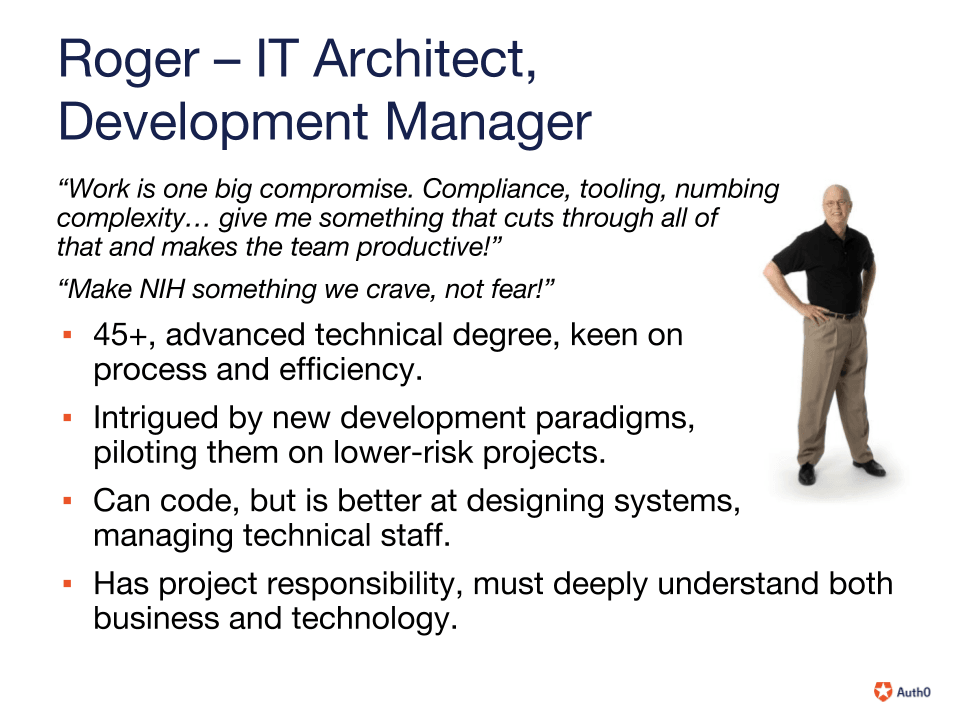 Developer Manager: Characteristics