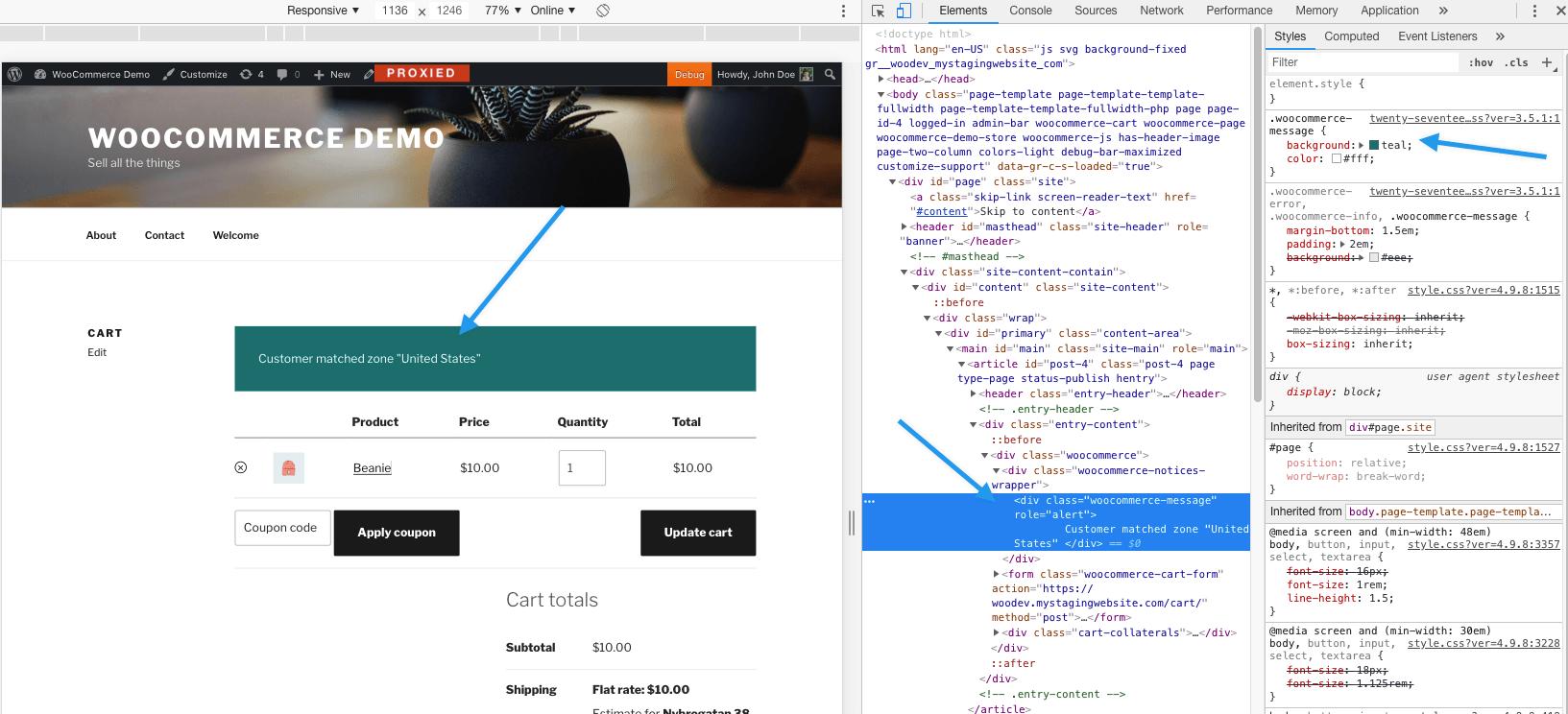 Notification CSS