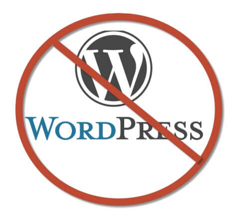 Disadvantages of using Wordpress