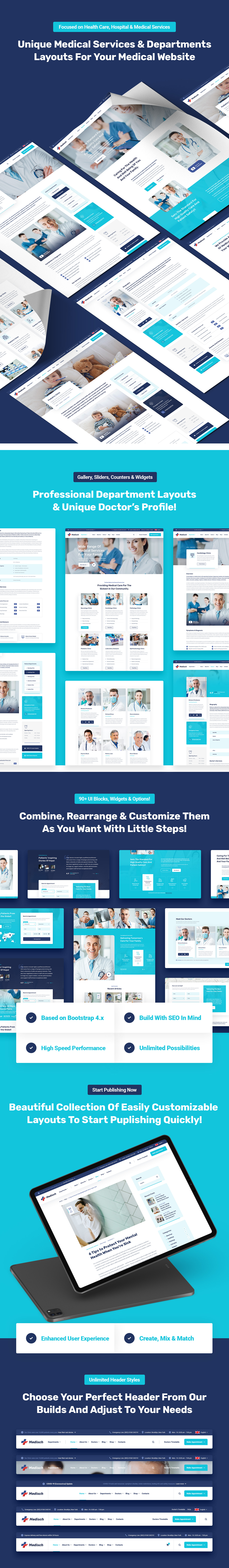 Medisch - Health & Medical HTML5 Template - 2