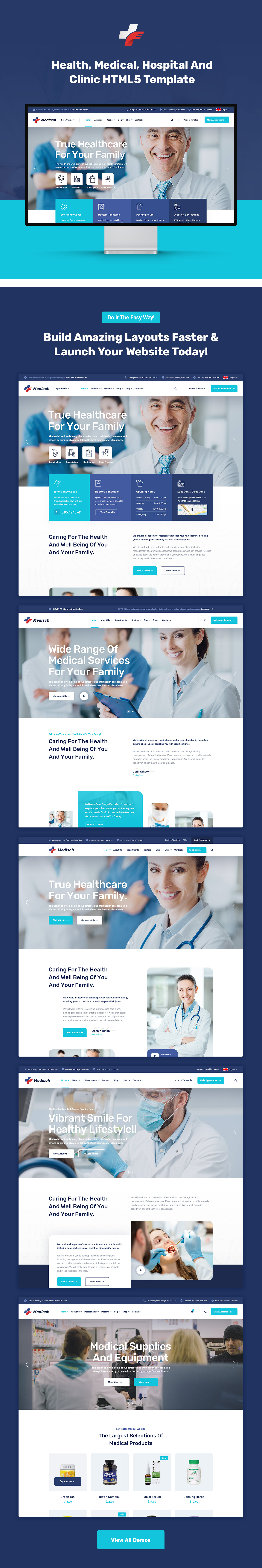 Medisch - Health & Medical HTML5 Template - 1