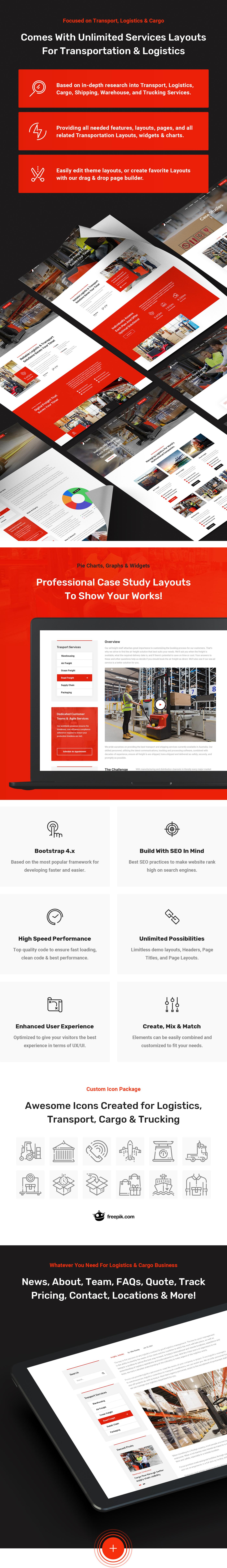 Equita - Logistics Cargo HTML Template - 2