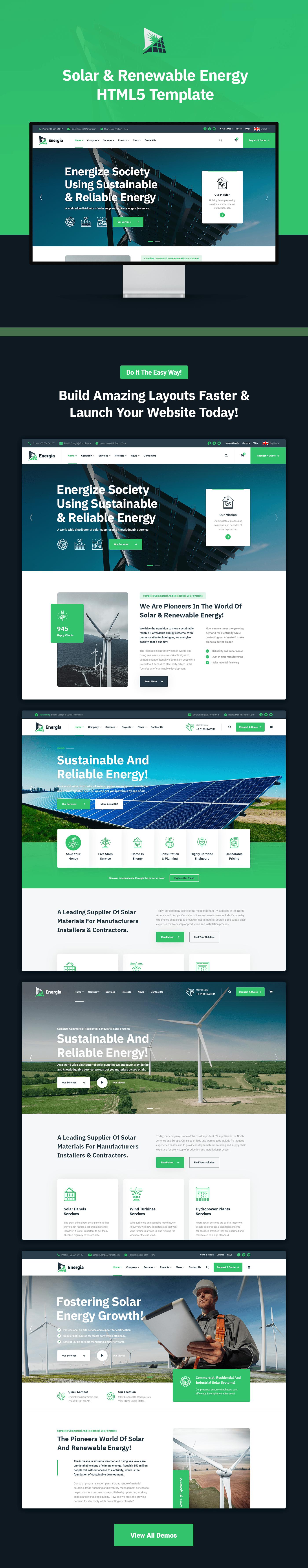 Energia - Renewable Energy HTML5 Template - 1