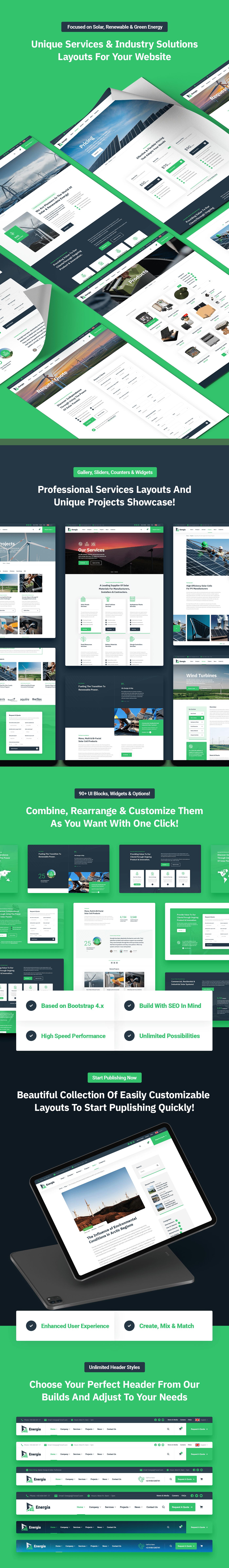 Energia - Renewable Energy HTML5 Template - 2