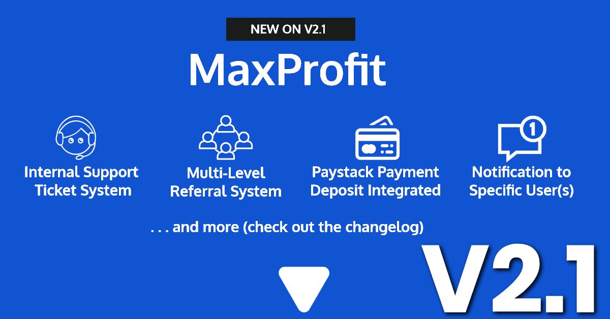 Max Profit - Online Multipurpose Investment Platform - 1